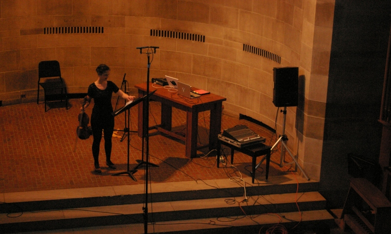 from viola + collected sounds, 22 april 2012