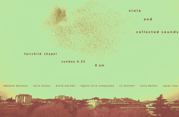 for viola + collected sounds