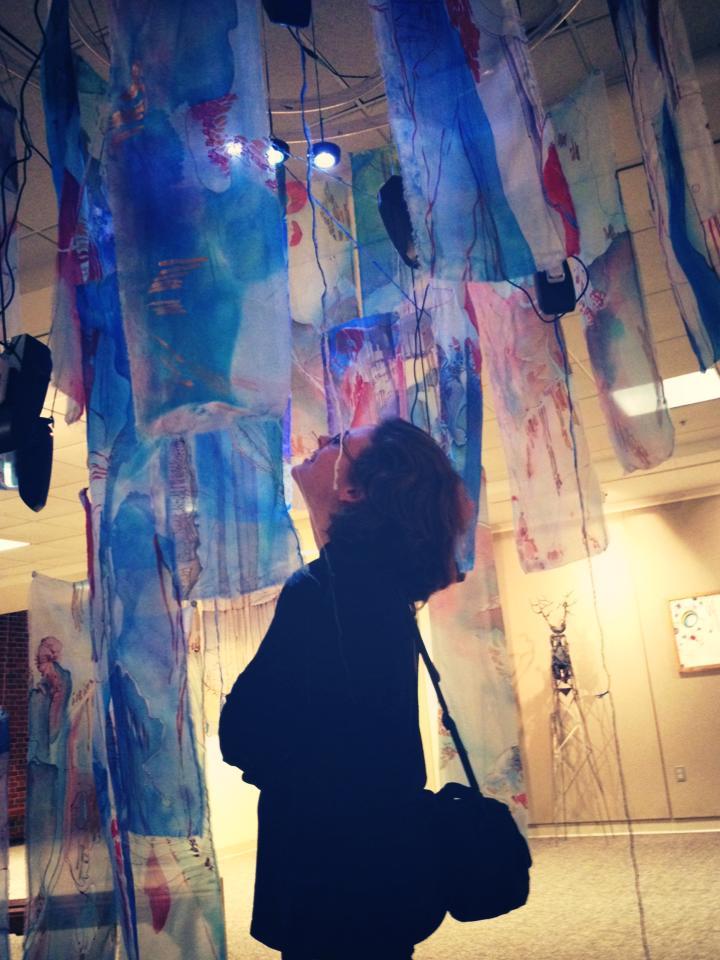 Anne Yoncha listens inside [in]Corporate
